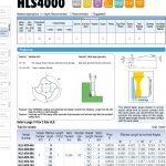 Dao phay ngón cổ dài hợp kim HLS4000 của Union Tool Nhật Bản 1