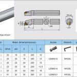 Cán dao tiện lỗ cnc PWLNR-L 3