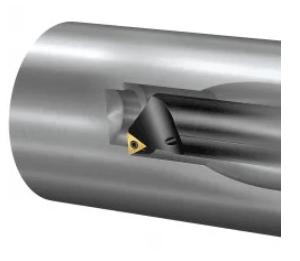 Cán dao tiện lỗ thẳng dọc trục